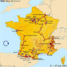 Marseilles France Map by 2003 Tour De France Wikipedia