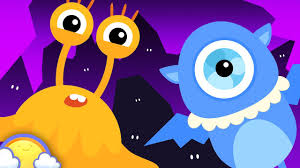 five little monsters 20 mins of halloween songs and more