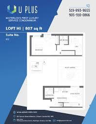 amenities u0026 floor plan uplus