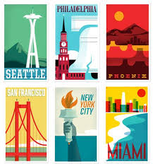 travel state images New heads of state travel posters design milk jpg