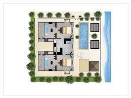 accommodation in koh samui ammatara pura pool villa beach front