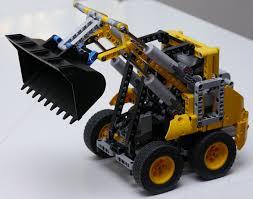 lego technique lego technic 4x4 skid steer loader