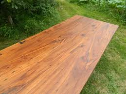 relcaimed cherry wood table top by antique woodworks diy wood