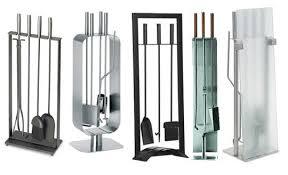 Fireplace Toolset - 5 sleek u0026amp modern fireplace tools apartment therapy