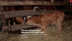 Tierarzt Bad Wildungen Tierarzt Praxen Auf Dem Land Suchen Händeringend Nachwuchs