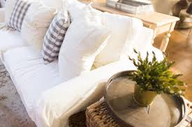 white slipcovers for sofa about white slipcovered sofa with and pets