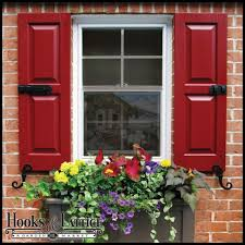 Hooks And Lattice by Decorative Outdoor House Shutters Window Shutters Exterior