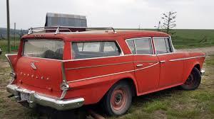 solid 1959 rambler six cross country super
