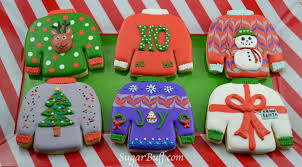 sweater cookies sweaters sugar buff bake shop