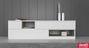 Modern White Tv Table Stand Emilia White Oak Tv Unit Tv Units White Oak And Drawers