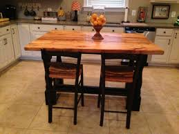 buy a hand crafted harvest style kitchen island made from