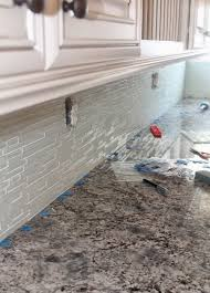 kitchen how to install glass tile kitchen backsplash youtube in