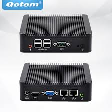 pc bureau i3 qotom mini pc i3 processor dual lan mini pc with serial port