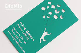 teacher art business card business cards paper paper art