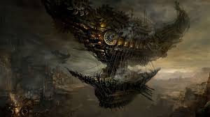 hd halloween wallpapers 1080p http pocketguys com steampunk airship hd photo wallpaper time