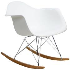 Small Rocking Chairs Eames Style Rocking Chair Modern Chair Design Ideas 2017
