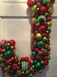 ornament wreath by aimee featuring green gold