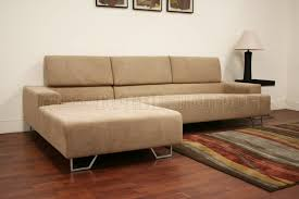 tan fabric modern sectional sofa melina tan sectional couch