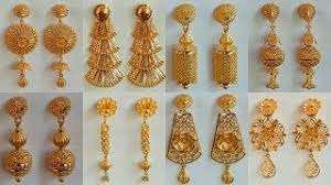 gold earrings design with weight gold earrings designs with weight and price best image collection
