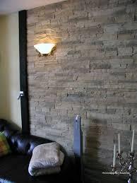 Wandgestaltung Wohnzimmer Mit Beleuchtung Beleuchtung Steinwände Ruhbaz Com