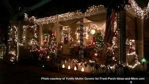 Outdoor Christmas Decorations Front Porch by Outdoor Christmas Light Decorating Ideas To Brighten The Season