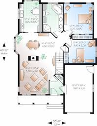 Country Style House Plan 2 Beds 1 Baths 1191 Sq Ft Plan 23 785