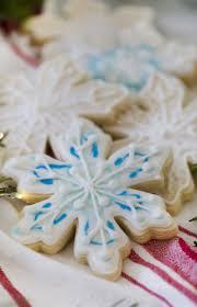 snowflake sugar cookies snowflake cookies preppy kitchen