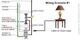 light switch to outlet wiring diagram wiring diagram and