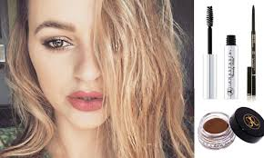 How To Color In Eyebrows How To Fill Your Eyebrows With Anastasia Beverly Hills
