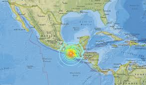 Earthquake Map Usgs Magnitude 8 1 Earthquake Strikes Near Mexico Kvoa Kvoa Com