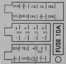 opel car radio stereo audio wiring diagram autoradio connector