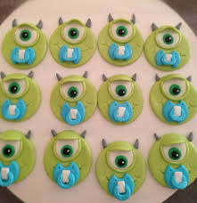 monsters inc cake toppers monsters inc mike wazowski baby shower cupcake toppers from