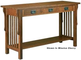 mission style console table mission style sofa table adropme mission style end tables mission