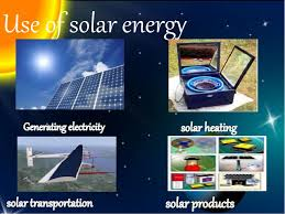 use solar solar energy and its uses