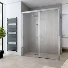 brise vent transparent porte de coulissante 120 cm transparent adena leroy merlin