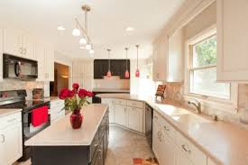 galley kitchen decorating ideas comfortable countertops for small galley kitchens regarding galley