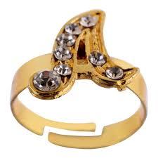 alphabet ring letter d jewellery