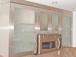 Stainless Steel Kitchen Cabinet Doors Glass Kitchen Cabinets Glass Kitchen Tables 13 Inspiration