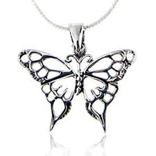 necklace with butterfly pendant images 925 sterling silver open celtic butterfly pendant jpg