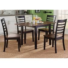 Drop Leaf Dining Table And Chairs Liberty Furniture Cafe Dining 5 Piece Drop Leaf Table And Slat