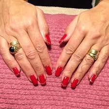 red gel nails design gallery nail art designs