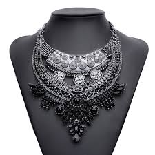 pearl pendant necklace wholesale images Black pearl pendant necklace for women crystal hot sale fashion jpg