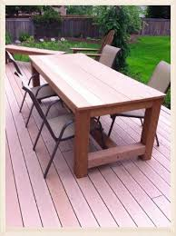 Diy Outdoor Wooden Table Top by Kregjig Project Outdoor Table By Patrick Flynn Top Made From