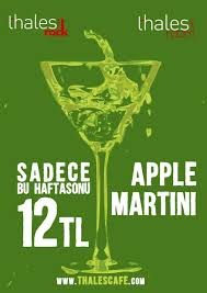 apple martini bar apple martini thales room thales rock thales cafe bar