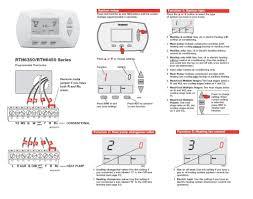 wiring diagram for honeywell thermostat kwikpik me