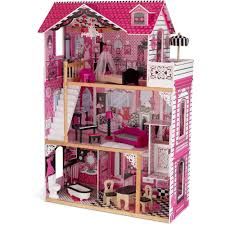 kidkraft amelia dollhouse with furniture walmart com