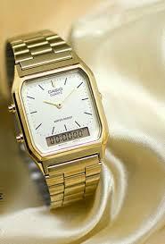 Jam Tangan Casio Gold inilah harga jam tangan casio wanita warna gold teranyar waktu ini