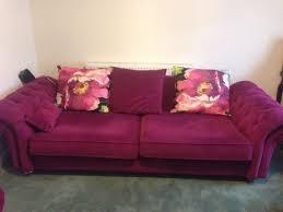Purple Velvet Chesterfield Sofa Beautiful Purple Velvet Chesterfield Sofas And Matching Chaise