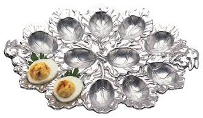 small deviled egg plate mint juleps magnolias pearls southern deviled eggs