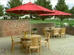 11 Patio Umbrella California Umbrella 11 Ft Commercial Grade Patio Umbrella
